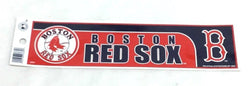 Boston Red Sox Classic Bumper Sticker Decal 10x3 Size Fenway Park (A1) FREESHIP
