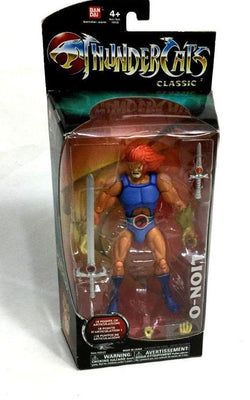 2011 Bandai ThunderCats Classics Lion-O Figure 8 Inch Boxed Sealed New FREESHIP