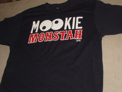 Boston MVP 2018 Mookie Monstah T Shirt Size Medium FREESHIP Red Sox Betts Theme