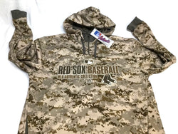 Boston Red Sox Digital Camo Marpat Marines Hoodie Hooded Sweatshirt Mens XLarge