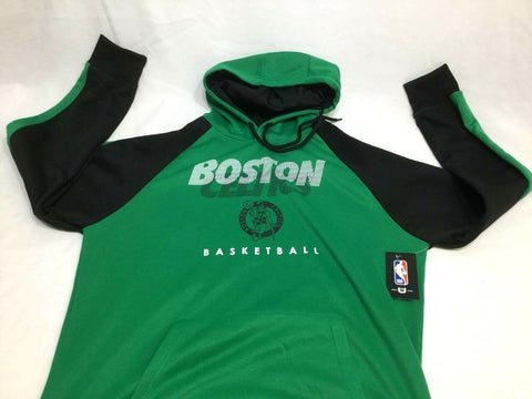 new arrival fac12 d0292 NBA Boston Celtics Practice Wicking Hoodie Hooded Sweatshirt Mens Small  FREESHP