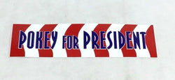 Boston 2004 Pokey for President Pokey Reese Red Sox Themed Bumper Sticker Decal