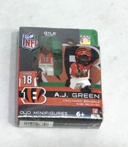 OYO Sports Figure Gen 1 Series 1 NFL Cincinnati Bengals AJ Green FREESHIP
