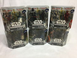 Star Wars Droid Factory 2008 WalMart Exclusive Complete Set Boxed Sealed FREESHP