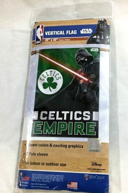 Star Wars Darth Vader Empire Boston Celtics Nylon Banner / Flag 28x40 FREESHIP
