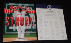 2013 Boston Strong Red Sox Jonny Gomes Picture 8x10 Team Issue Marathon FREESHIP