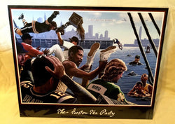 Sports Boston Tea Party Wall Print Poster 16x20 Bird Brady Russell Bourque