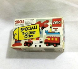 1984 Vintage LEGO Basic Building Block Set #1901 Sealed MISB Boxed FREESHIP