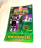 1994 Bandai Mighty Morphin Power Rangers Zach Black Ranger MOC Carded Sealed