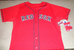 NEW Boston Red Sox Authentic Majestic Alternate Red Jersey Mens Size XXL / 52