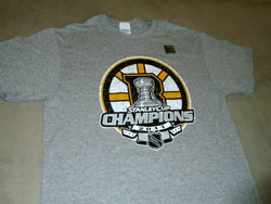 NEW Boston Bruins 2011 Stanley Cup Champions Locker Room T Shirt Mens XXLarge