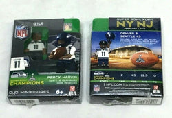 OYO Sports Figure Superbowl 48 World Champions Seattle Seahawks Percy Harvin