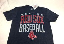 NEW Official Boston Red Sox Relaxed Fit Distressed T Shirt Mens XLarge FREESHIP