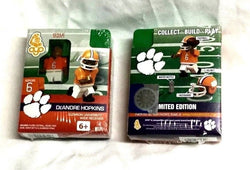 NCAA Clemson University Tigers DeAndre Hopkins Football OYO Sports Figure FREESP