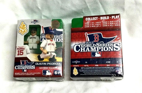 OYO Sports Figure 2013 World Series Champions Boston Red Sox Dustin Pedroia