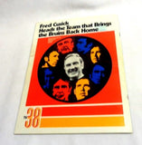 1971 1972 Boston Bruins Official Team Yearbook Orr Cover Stanley Cup Champions