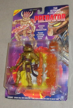 1993 Kenner Predator Spiked Tail Action Figure Carded MOC Sealed FREESHIP
