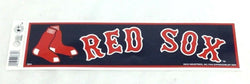 Boston Red Sox Classic Bumper Sticker Decal 10x3 Size Fenway Park (A2) FREESHIP
