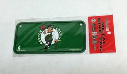 New NBA Boston Celtics Mini Metal Bike License Plate RARE Find FREESHIP