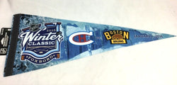 2016 Winter Classic Foxboro Boston Bruins Montreal Canadiens Pennant FREESP