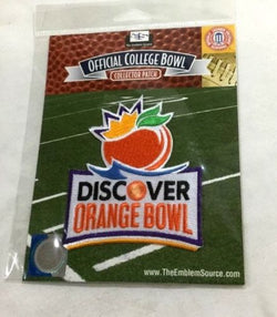 NCAA 2012 Discover Orange Bowl Jersey Patch West Virginia vs Clemson Tigers
