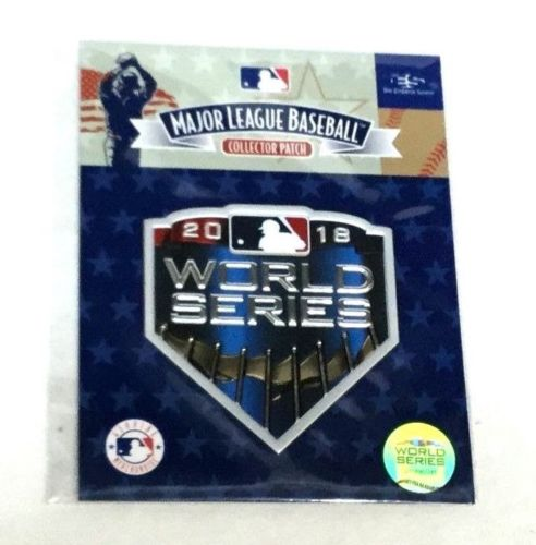 2018 World Series Jersey Patch Boston Red Sox Los Angeles Dodgers FREESHIP