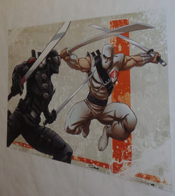 GI Joe ARAH Storm Shadow Snake Eyes 1985 Version Poster 11x17 Art FREESHIP