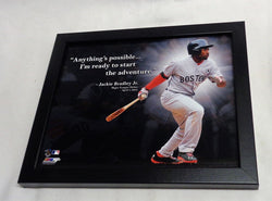 Fenway Park Boston Red Sox Jackie Bradley Jr JBJ ProQuotes Picture 8x10 FREESHIP