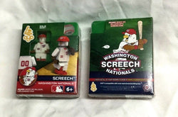 RARE OYO Sports Figure Washington Nationals Screech Mascot Gen 1 Series 1