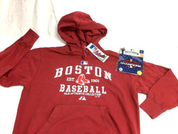 Boston Red Sox Hoodie Hooded Sweatshirt Mens Medium 2018 World Champions Patch