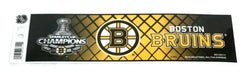 NHL Boston Bruins 2011 Stanley Cup Champions Bumper Sticker Decal 10x3 Size