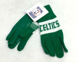 1970s Vintage NEW Boston Celtics Childrens Kids Toddlers Fleece Gloves FREESHIP