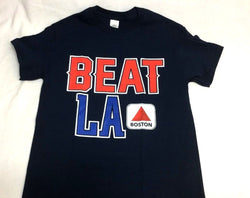 Beat LA Boston Citgo Sign Kenmore T Shirt Size Large Red Sox Version FREESHIP