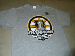 NEW Boston Bruins 2011 Stanley Cup Champions Locker Room T Shirt Mens Large