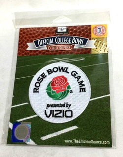 NCAA 2012 Vizio Rose Bowl Jersey Patch Wisconsin Badgers vs Oregon Ducks