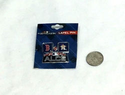 2018 ALCS League Championship Series Pin Boston Red Sox Houston Astros Duel Logo