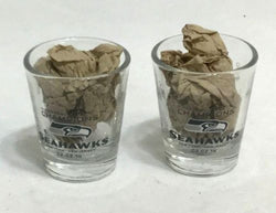 Seattle Seahawks 2014 Superbowl 48 World Champions Trophy Shot Glass Set FREESHP
