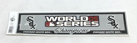 2005 World Series Champions Chicago White Sox Bumper Sticker Decal 10x3 FREESHIP