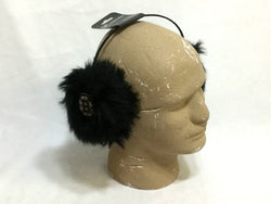 NHL Boston Bruins Winter Earmuffs Faux Fur Unisex One Size Fits All FREESHIP