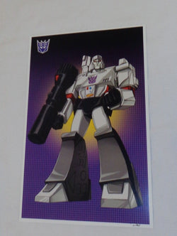 G1 Transformers Decepticon Megatron Poster 11x17 Box Art Grid FREESHIPPING