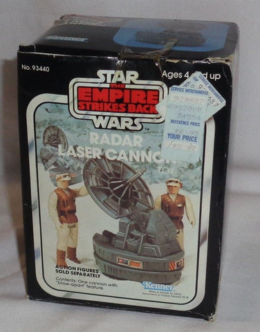 1982 Vintage Hoth Star Wars Empire ESB Radar Laser Cannon Boxed Complete FREESHP