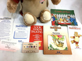 1985 Worlds of Wonder Teddy Ruxpin Book Tape Book Boxed Mint New Tags