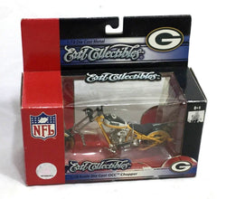Ertl NFL Green Bay Packers OCC Orange County Choppers Motorcycle 1:18 Boxed New