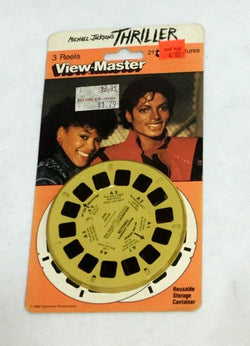 Michael Jackson Thriller View Master Viewmaster Reels Set Sealed NEW Carded