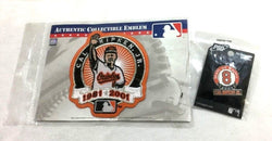 Baltimore Orioles HOF Cal Ripken Jr Retirement Patch Pin Lot 2001 2007 FREESHIP