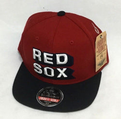 NEW American Needle Boston Red Sox FlatBrim Snapback Cap Hat FREESHIP Fenway