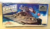 1983 MPC Vintage Star Wars Imperial Star Destroyer Plastic Model Kit Sealed Box