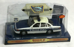RARE Code 3 Police Car Series Boston Police Cruiser & Patch Boxed New FREESHIP
