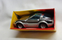 Rare NEW 1981 Vintage Buddy L Gull Wing Vett Corvette Chrome Silver Boxed Mint