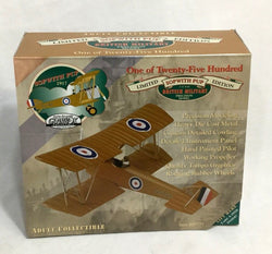 NEW 1997 Gearbox WWI British Army 1917 Sopwith Pup Diecast Bi-Plane 1:32 Scale